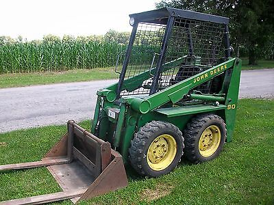 John Deere 90 Skid Steer Loader