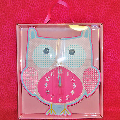 Owl Wall Clock Brand New