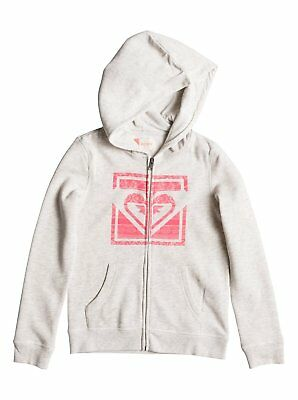 Roxy Tatakoto  Girls Hoody in Metro Heather