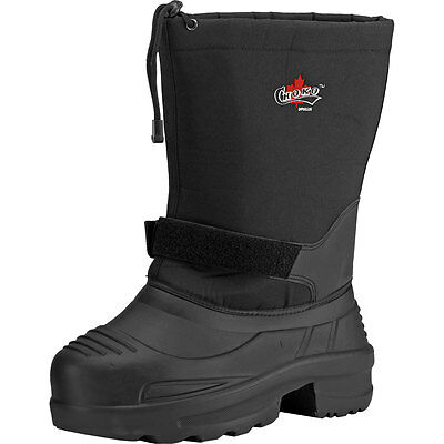 CHOKO Men's Eva Thermal Snowmobile Boots, 96U3050-00-10, Size 10, Black