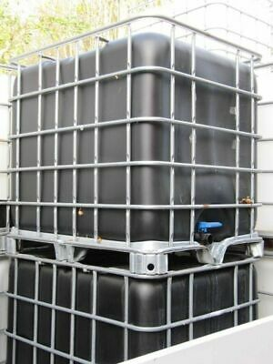 1000 Litre IBC Container. IBC Water Tank Ideal for Water/Bio Fuel Storage, etc.