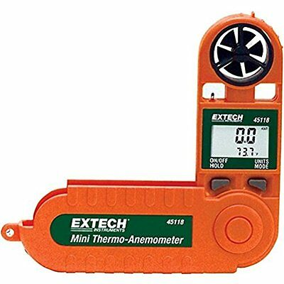 Extech Categories 45118 Mini Waterproof Thermo Anemometer