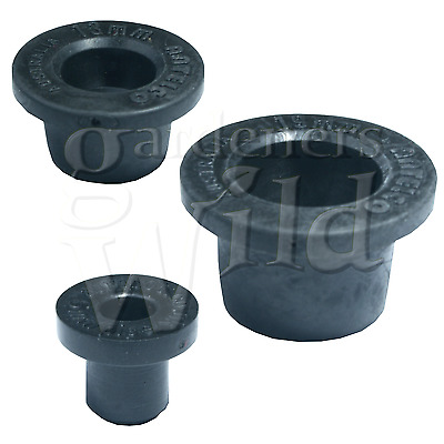 GROMMET TANK CONNECTOR TAKE OFF top hat irrigation pipe fitting rubber ANTELCO
