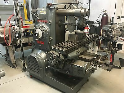 1945 Kearney & Trecker Milwaukee Model K Horizontal Milling Machine