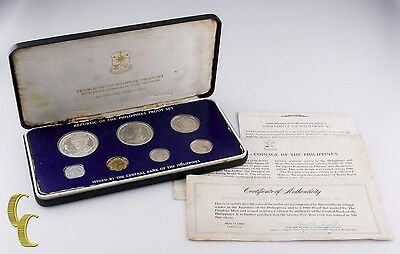 1980 Philippines Proof Set Issued by the Franklin Mint w/ Box and CoA