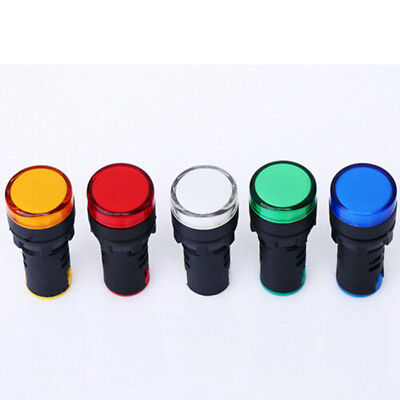 Light LED Bulbs Indicator Signal Indicator Lamp Warning Light LED Pilot Panel