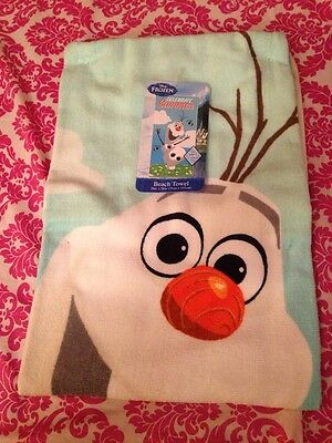 Frozen Olaf beach and pool towel 100% cotton