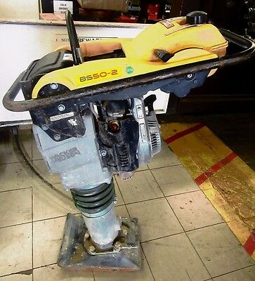 Wacker Neuson Walk Behind Jumping Jack Ground Rammer Pavement Compactor BS50-2