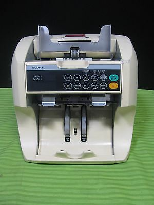 Glory GFR-S80V Currency Counter /Discriminator W/Counterfeit detection