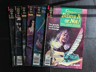 Ripley's Believe It Or Not (GK, 1976) Lot of 6 issues #66,#71,#76,#85,#87,#93
