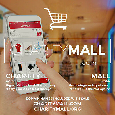 Domain Name – Charity Nonprofit – CharityMall.com