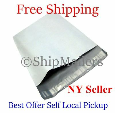 100 7.5X10.5  Poly Mailers Envelopes Shipping Self Seal Privacy Shield Bags