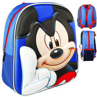 Mickey Mouse Licensed Backpack 3D EVA Disney School Childrens Backpack ORIGINAL