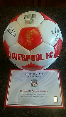 Signed 2015 Liverpool FC Football