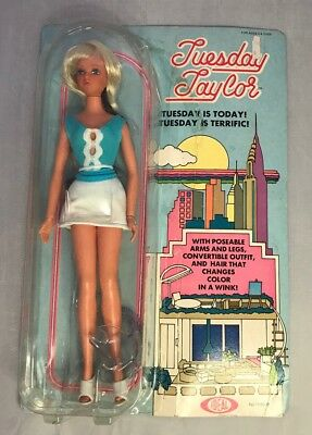 Vintage Tuesday Taylor Doll NIB Ideal Doll With Hair That Changes Color