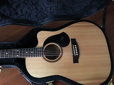 Maton SRS60C Semi Acoustic Guitar and Hard Case