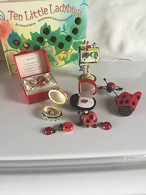 Ladybug collection 10 items all items have ladybugs