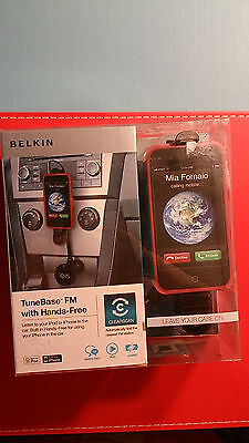 BELKIN TuneBase FM with Hands Free for iPod or iPhone - NEW Postage additional