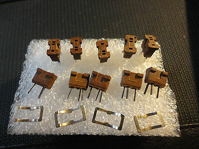 10pcs CINCH 2H3 TRANSISTOR SOCKET