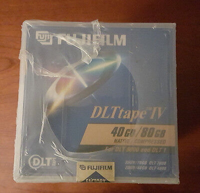 FUJIFILM DLT IV TAPE CARTRIDGES  40GB 80GB  1 count for DLT 8000 and DLT 1