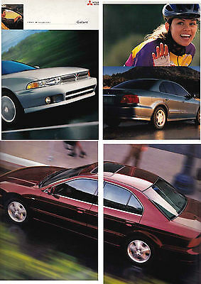 1999 MITSUBISHI GALANT US Brochure 2.4 LITRE 4 and 3.0 LITRE V6