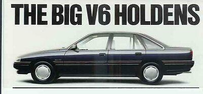 1988 HOLDEN VN COMMODORE Small Format Brochure
