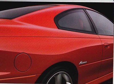 2001 HOLDEN V2 MONARO  8p Introductory Brochure Folder Opens out to Poster