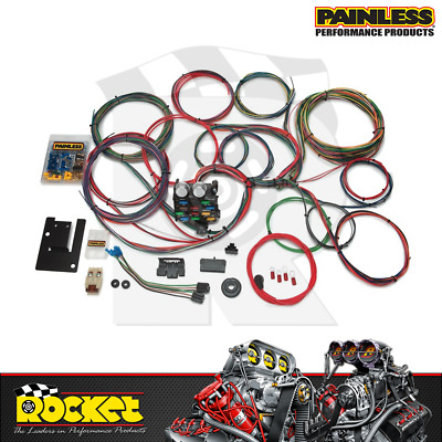 Painless 21 Circuit Chev 1955-57 Wiring Harness Kit - PW20107