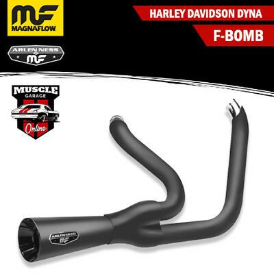 7213102 2006-2017 HARLEY DAVIDSON Dyna F-Bomb Magnaflow Exhaust