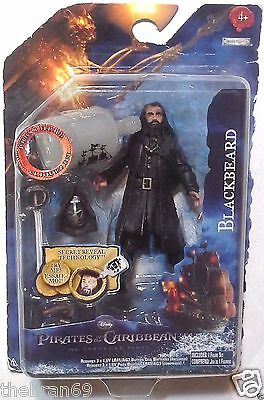 "Pirates of the Caribbean: 'Blackbeard' OST 3.75"" Action Figure 2011 Series 1"
