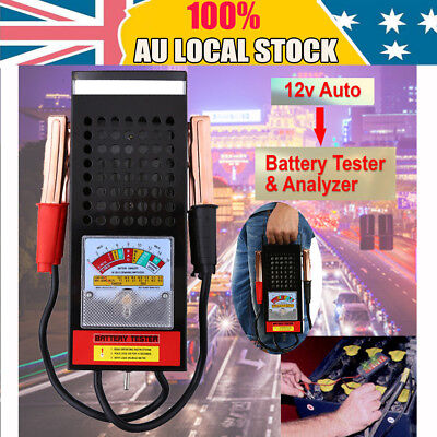 12V 100Amp Auto Battery Tester Load Drop Charging System Analyzer Checker Tool S