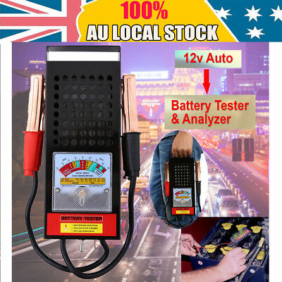 6V/12 100 Amp Battery Load Tester with Heavy Duty Insulated Copper Clips