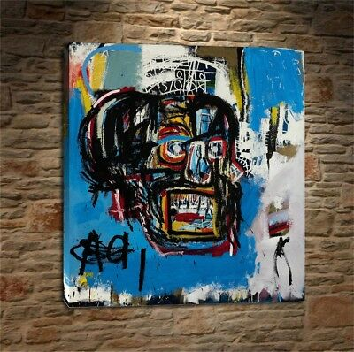 "Jean Michel Basquiat ""Untitled,1982"" HD print on canvas huge wall picture"