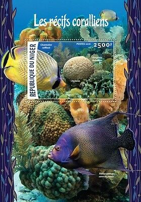 Z08 Imperforated NIG16205b NIGER 2016 Corals MNH