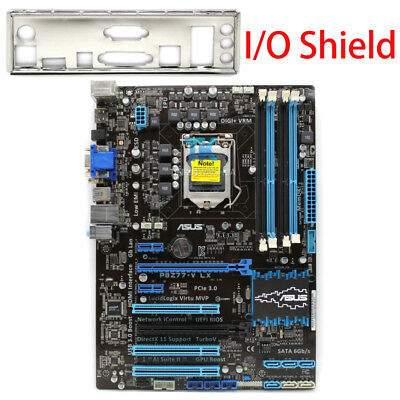 ASUS P8Z77-V LX Original Motherboard Intel Z77 LGA1155 DDR3 I/O Shield Tested