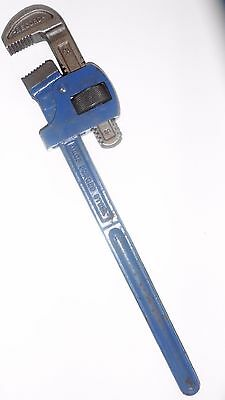 """Record Stilsons / Pipe Wrench 18"""" hardly used"""