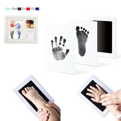 Newborn Footprint Ink Pad Handprint Non-Toxic Clean-Touch Pearhead Inkless Gift