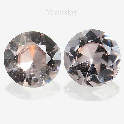 Malaia Garnet Natural Yavorskyy-cut 0.22 ct / 2 pcs