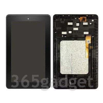 +Frame LCD Screen Digitizer Assembly For Amazon Kindle Fire 7 5th 2015 SV98LN