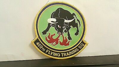 USAF 469th Flying Training Squadron Color Patch 4 3/4 x 4 1/2 inches
