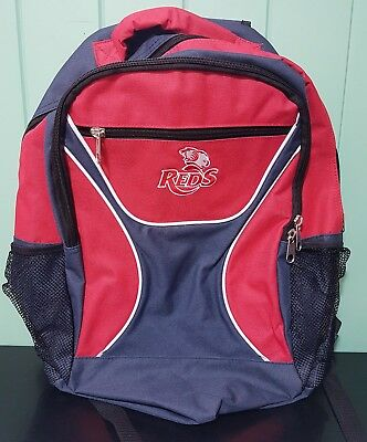 QLD Reds rugby union backpack Bag Queensland Reds