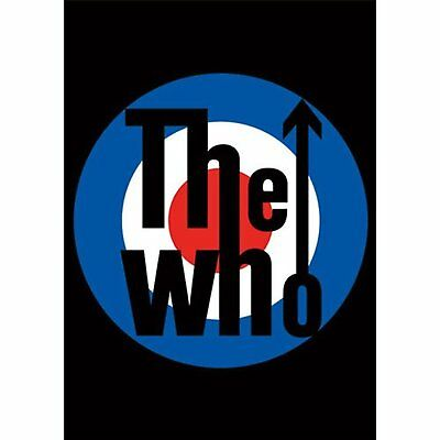 The Who Target Logo Bullseye Album Cover Postcard Picture Official Merchandise