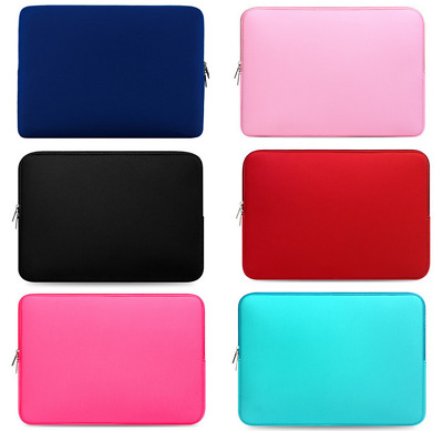 Laptop Sleeve Case Bag Pouch For Mac MacBook Air Pro 11.6/13.3/15.4Inch 7 Colors