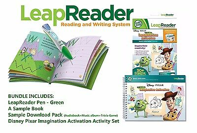 Leapfrog frog LeapReader Leap Reader Pen Set + Disney Pixar Read & Write Pack