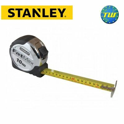 Stanley FatMax Heavy Duty Tape Measure Rule 10m 33ft 0-33-897 STA033897 DIY