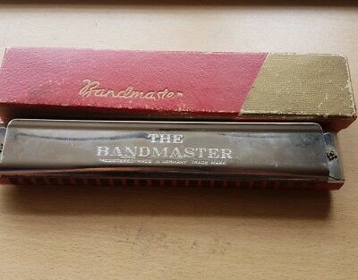 Bandmaster Vintage Harmonica, made in Germany
