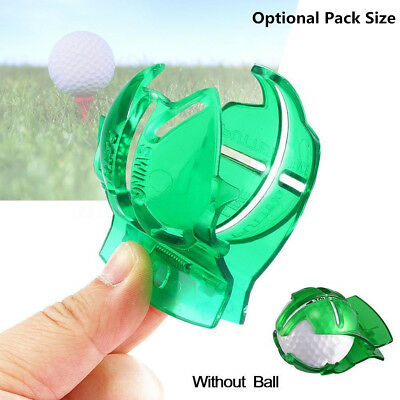 Golf Ball Line Clip Marker Pen Template Draw Alignment Marks Tool Putting Aid