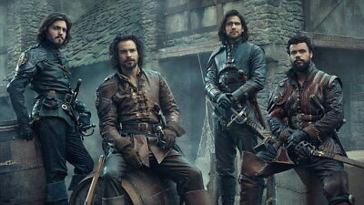 """016 The Musketeers - Season1 2 3 4 Fight Hot TV Shows 24""""x14"""" Poster"""