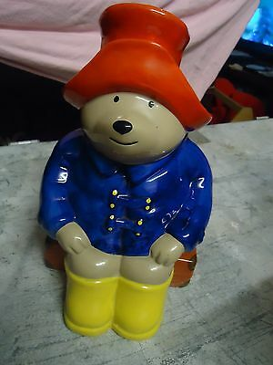 Vintage Collectable 1997 PADDINGTON BEAR COOKIE CONTAINER