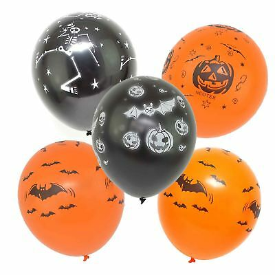15 Assorted Halloween Balloons Decoration Trick Or Treat Scary Party Fun 23CM